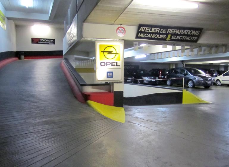 Parking ruchonnet gare lausanne parking priv s curis for Garage parc auto auxerre